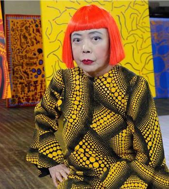 Yayoi Kusama @ Victoria Miro Gallery,Japan's most revered contemporary artist,paintings are  innovative and classically Kusama,dot paintings,colouful bold art