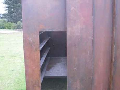 Sir Anthony Caro's hidden aspects of his sculptures are fun to find, sculpture for sale would be very expensive,