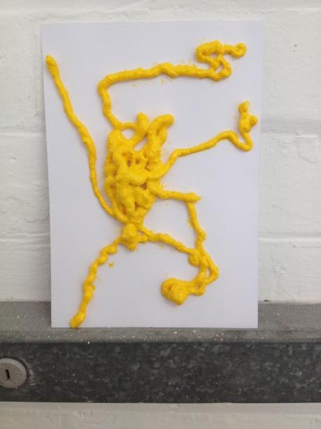 Postcard, postcard sculpture,
